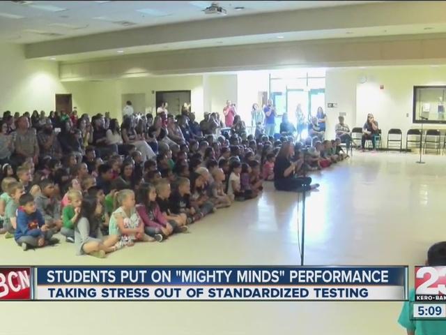 Creative teachers pump up students for standardized testing