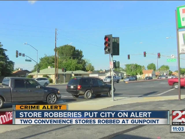 Residents concerned about convenience store robberies