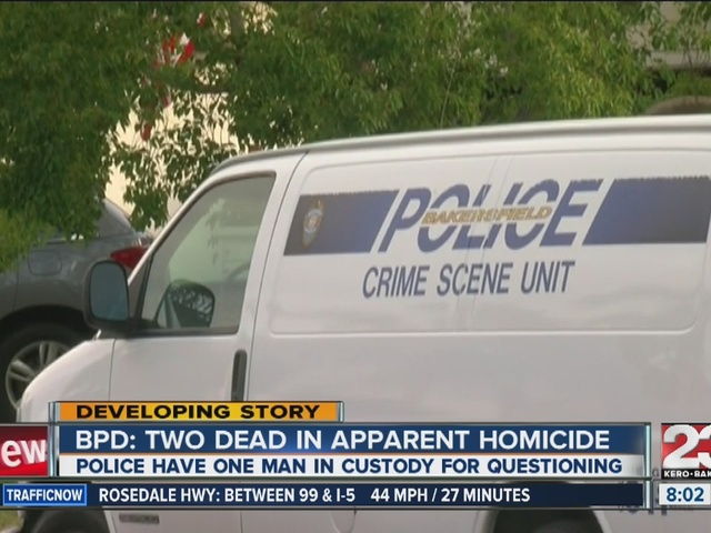 Two found dead of an apparent homicide