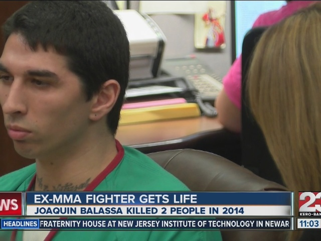 MMA fighter sentenced to life in prison