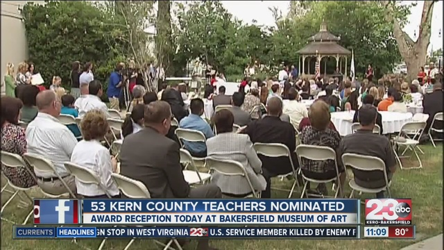 Kern County Teacher of the Year to be announced