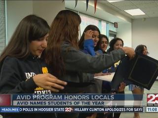 Kern County honors AVID students