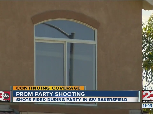Caught on video: Gunfire at post-prom party