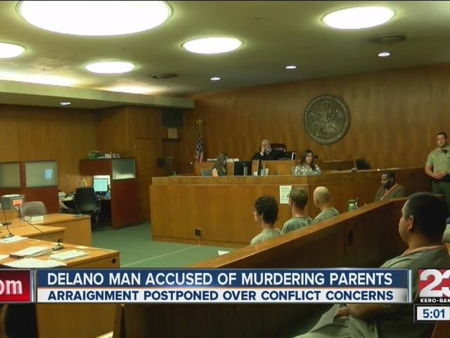 Delano man accused of murdering parents