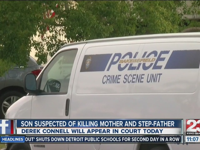 Man suspected of murdering mother and step-father