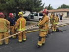 BFD: working a structure fire in SW Bakersfield