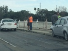 4 vehicle crash backs up Golden State to Hwy 99