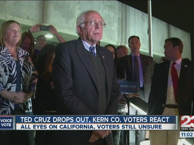 Kern County voters react to Ted Cruz dropping out