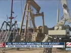 Oil industry impacting new city budget