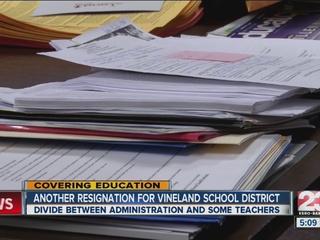 5th teacher resigns from Vineland District