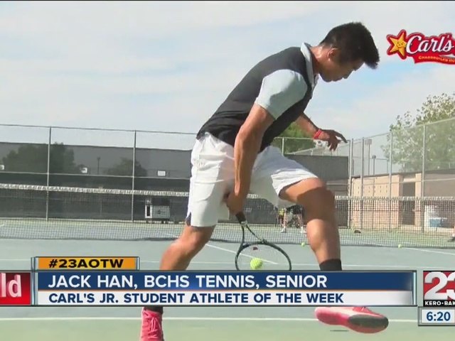 Male Athlete of the Week: Jack Han
