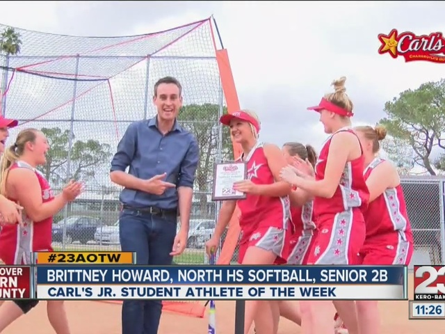 Female Athlete of the Week: Brittney Howard