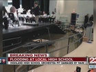 Heavy rain floods parts of Highland High School