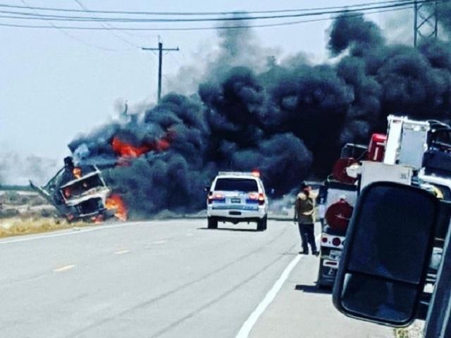 Rural Truck Fire Snarls 7th Standard Rd Traffic