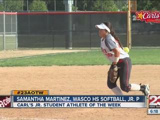 Female Athlete of the Week: Samantha Martinez