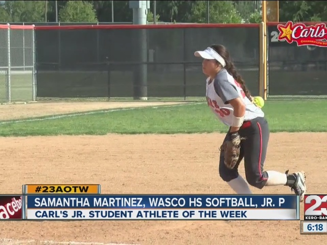 Female Athlete of the Week: Samantha Martinez