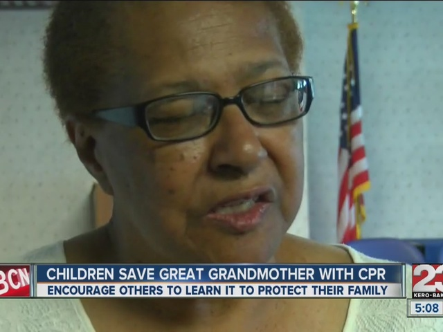 Children save great grandmother with CPR
