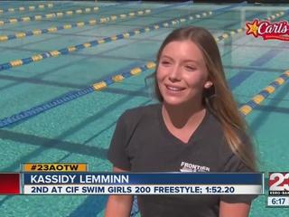 Female Athlete of the Week: Kassidy Lemminn