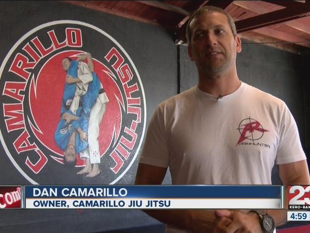 Jiu Jitsu studio owner recreates last night's heroic act