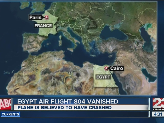 Missing EgyptAir Flight