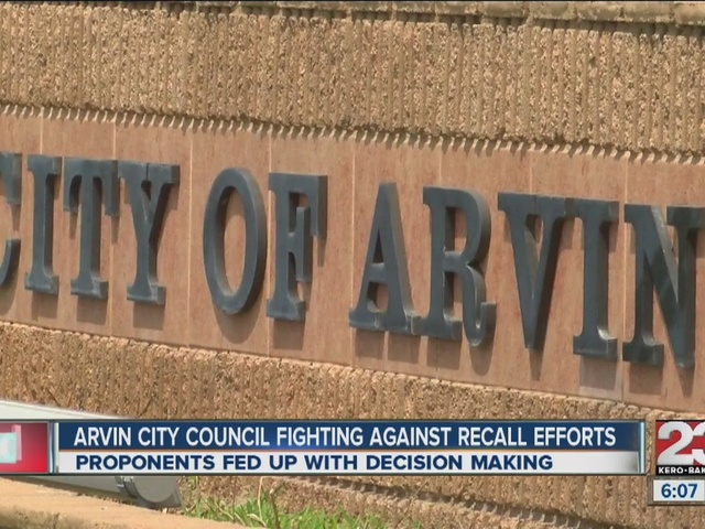 Arvin councilmembers fighting against recall