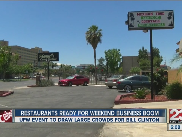 Local restaurants expect business boom over weekend