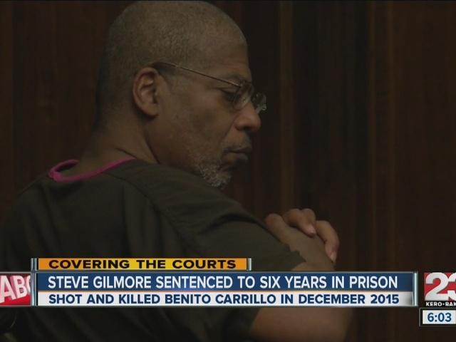Steve Gilmore sentenced to 6 years for voluntary manslaughter