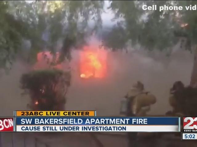 Village Lane Apartment Fire