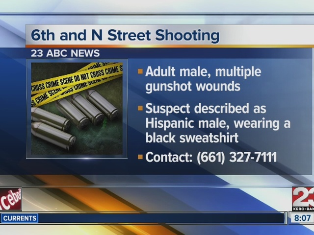 6th and N Street Shooting