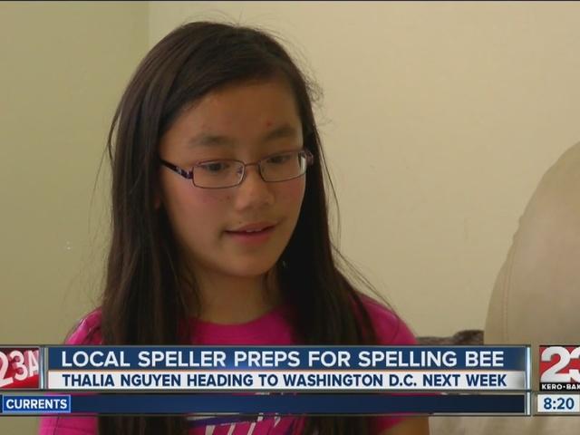 Local speller preps for National Bee