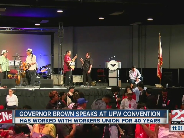 Gov. Brown honors farm workers at UFW dinner