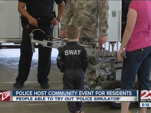 Police host community outreach event