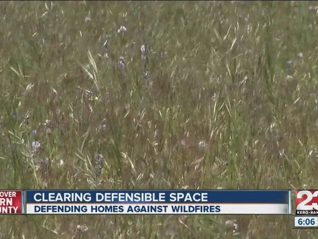 Homeowners create defensible space, last line of defense against fire