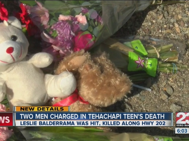 Men charged in hit and run death of Tehachapi teen