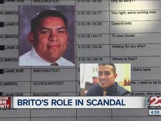 Docs show Brito's role in Delano sex scandal