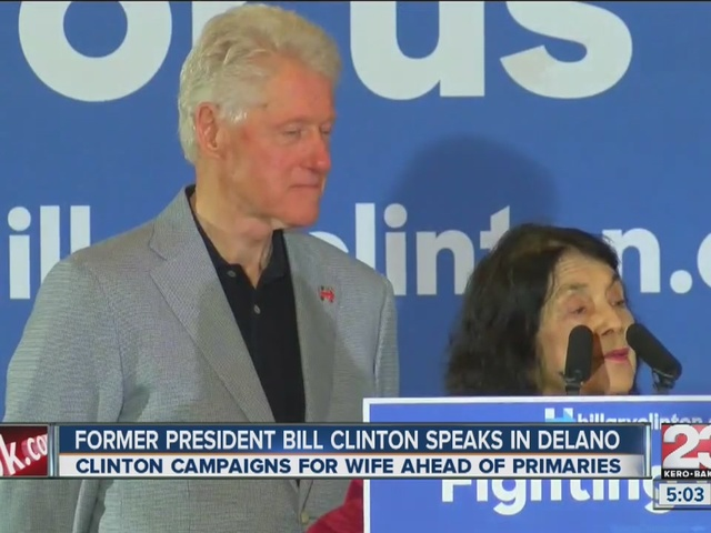 Woman's dying wish is to see Hillary Clinton become president
