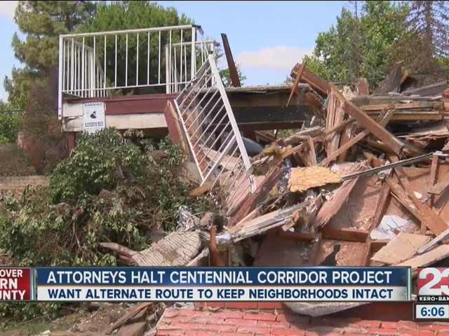 Attorney's halt Centennial Corridor Project
