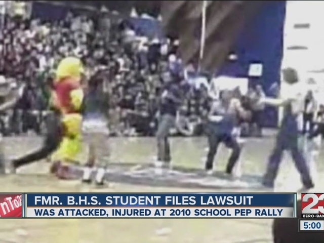 Former Bakersfield High student taking district to court for unsafe environment