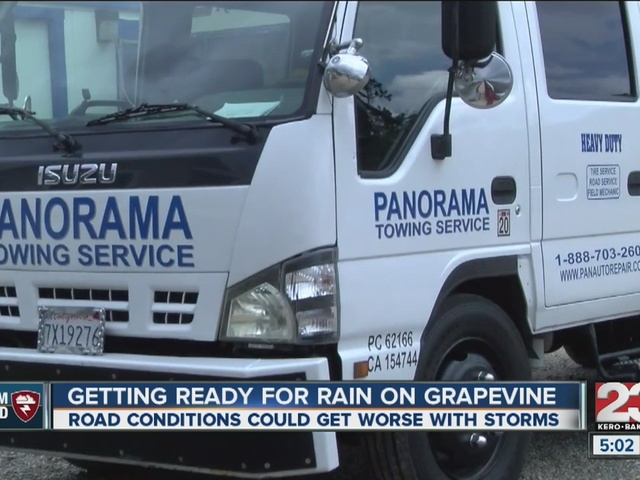 Susceptible to weather, Grapevine bracing for storms