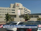 Nurses at Bakersfield Memorial set to picket