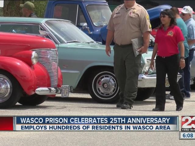 Wasco Prison celebrates 25th anniversary