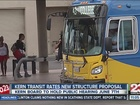 Kern transit rates new structure proposal