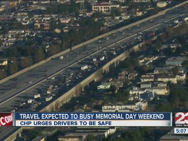 CHP urges safe driving during Memorial Day Weekend