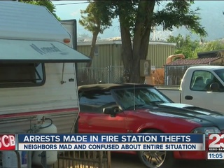 5 arrested in KC Fire Department burglary