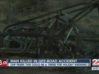 Dune buggy fire becomes fatal
