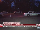 KCSO is investigating a shooting at Hart Park