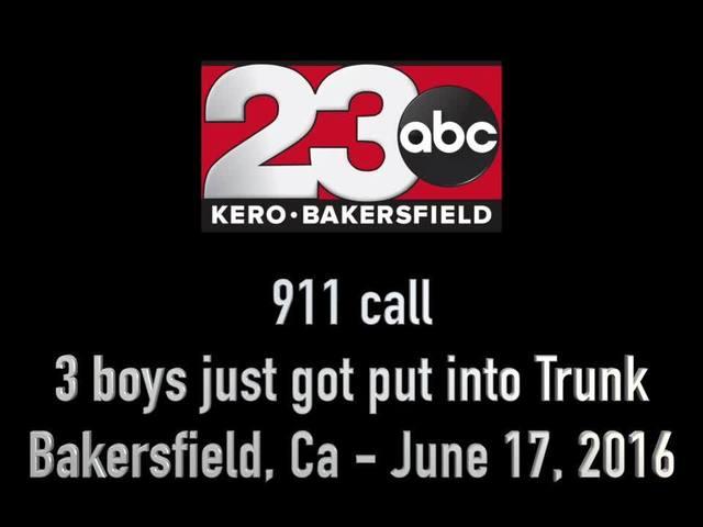 911 CALL: Woman puts three boys in the trunk, followed car until…