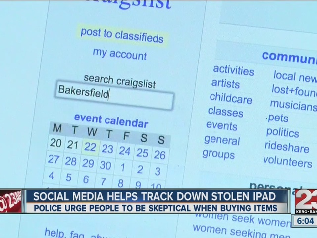 Social media, iCloud help family track down stolen iPad