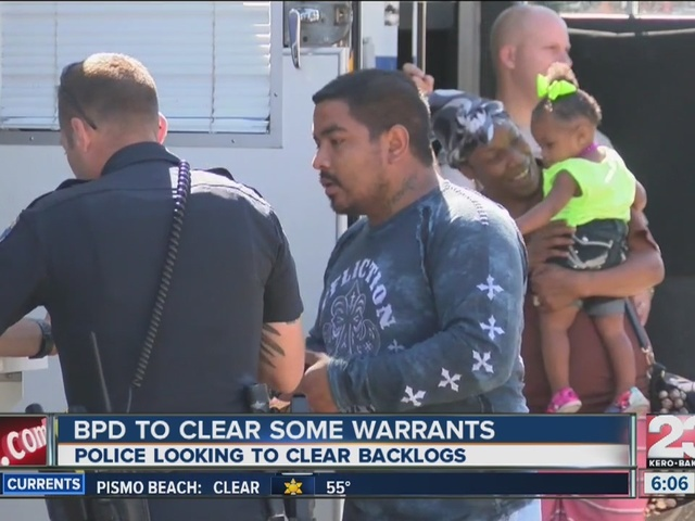 Warrant Day by BPD