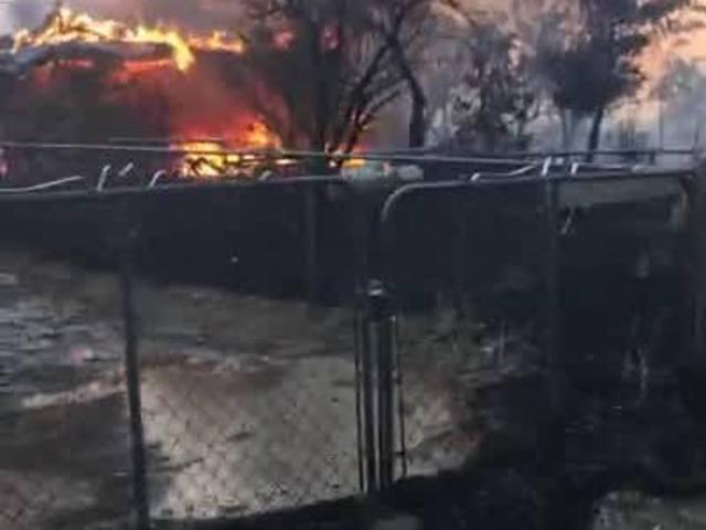 Erskine Fire Destroys over 60 homes in Lake Isabella